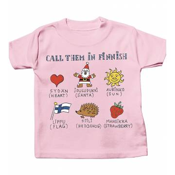 Call them in Finnish Baby T-shirt
