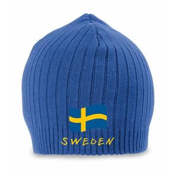 Musta Ruotsin lippu + Sweden  pipo