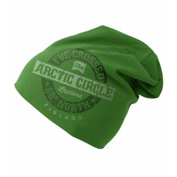 Kelly Green I´ve crossed Arctic Circle Tricot beanie
