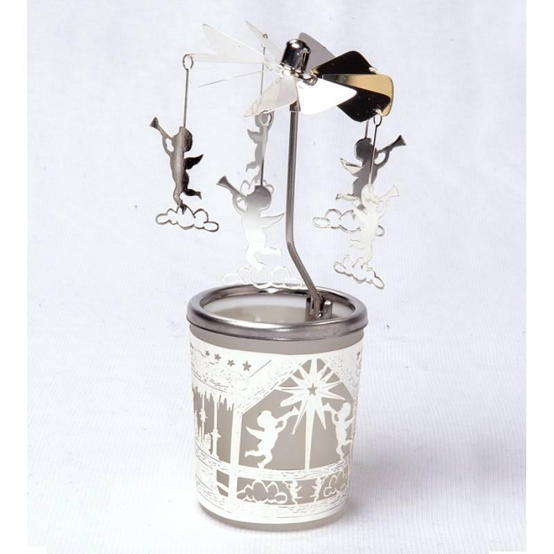 Carousel Glas Angel 2, Silver