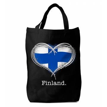 Finland Hopeinen Sydän Kassi
