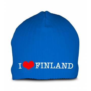 Royal sininen I Love Finland Pipo