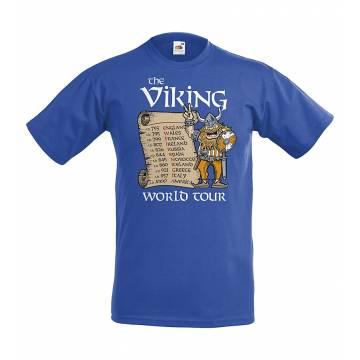 Royal Blue DC Viking World Tour Kids T-shirt