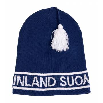 Navy Blue SF Retro Beanie