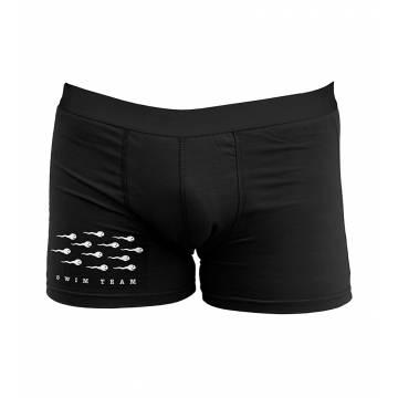 Black Swim team Boxer shorts