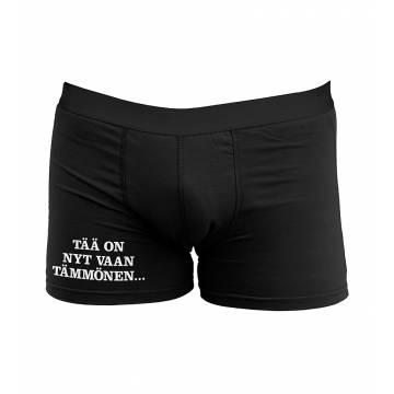 Black DC Tää nyt on vaan... Boxer shorts