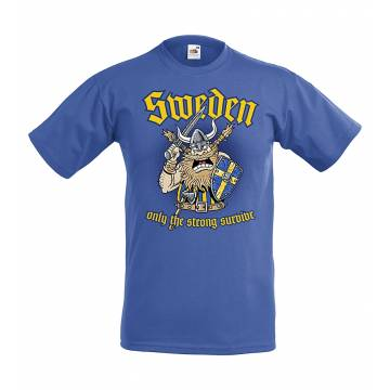 Royal Blue Sweden, Only the strong...Kids T-shirt