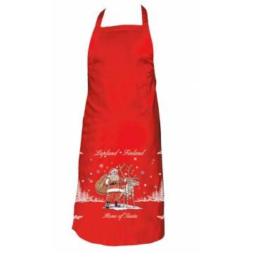 Red Santa Apron