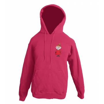 Fuchsia Little My Kids Hooded Sweat