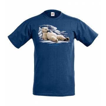 Navy Blue Lazy days Sweden Kids T-shirt