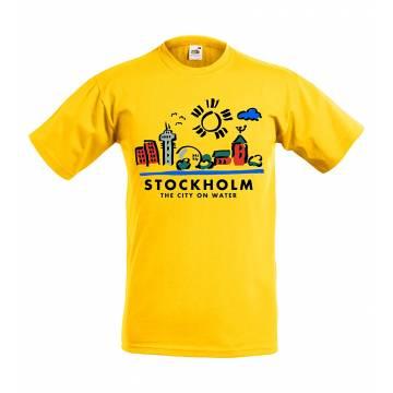 City on water Lasten T-paita