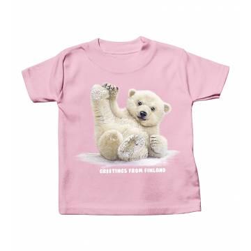 DC Liukuva Jääkarhunpentu Vauvojen paita