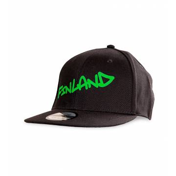 Black Finland Tag Kid´s Cap GREEN