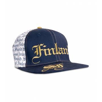 Tummansininen SF Finland Lippis