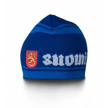 Royal Blue Suomi/Finland Beanie