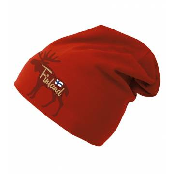 Red Moose Finland and flag Tricot Beanie
