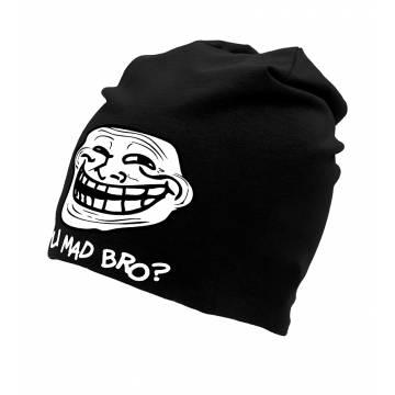 Black DC Mad Bro Tricot Beanie