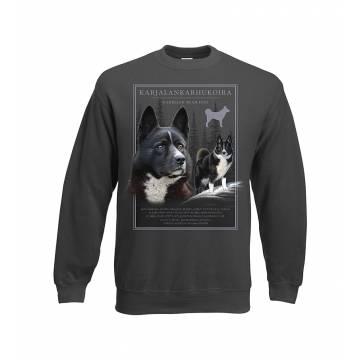 Charcoal DC Karelian Bear Dog Sweatshirt