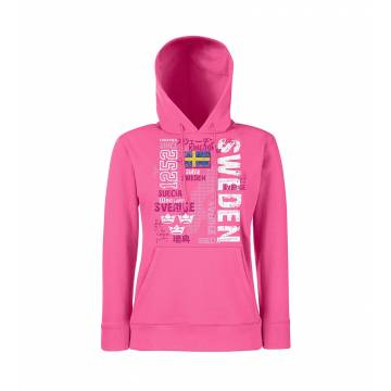 DC Kingdom of Sweden Sllim Hooded Sweat