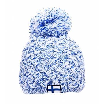 Valkoinen Patriot Winter Hat Finland