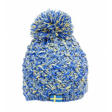 Royal sininen Patriot Winter Hat Sweden