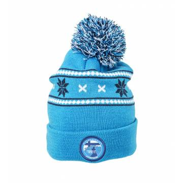 Royal Blue Pokka AUKEA beanie