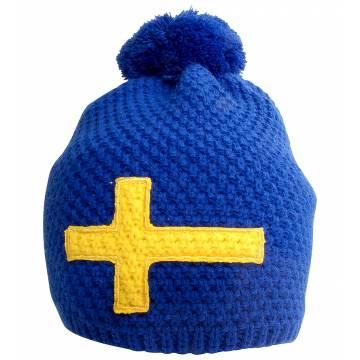 Royal Blue Swedish flag Beanie