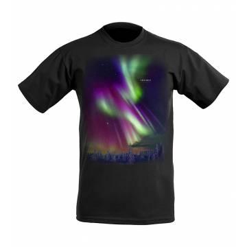 DC Aurora borealis Sweden T-shirt