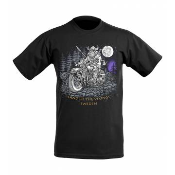 Viking prätkä T-paita