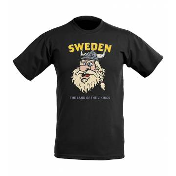 Viking Warrior Sweden T-paita