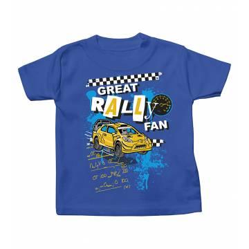 Royal Blue Great rally fan T-shirt