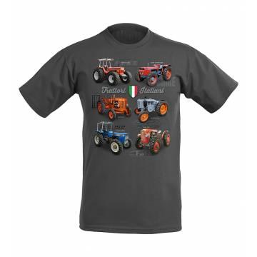 Light Graphite DC Trattori italiani Kids T-shirt
