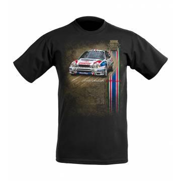 Musta DC Toyota Corolla WRC Lasten T-paita