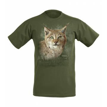 Forest Green DC Lynx head SwedenT-shirt
