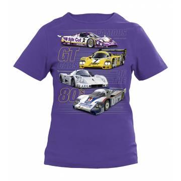 80´s GT Cars Slim T-shirt