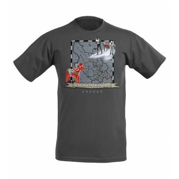 Dalarna Map T-shirt