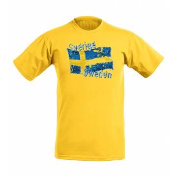 Glitter Sweden ja lippu