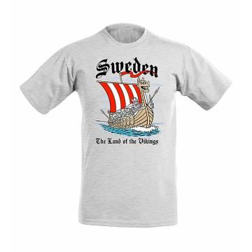 Viking Skepp Sweden T-paita