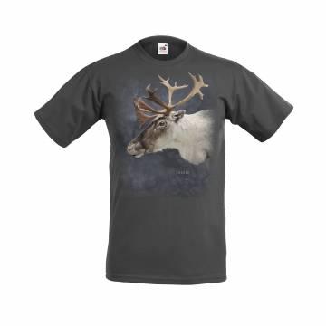 DC Reindeer Head Sweden T-paita