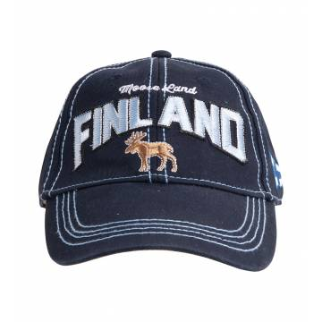 Finland Moose, Washed Twill Cap