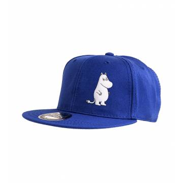 Royal Blue Moomin Kids Snapback Cap