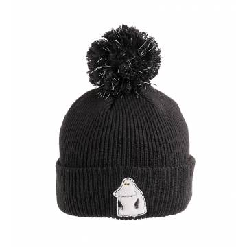 Black The Groke Beanie Reflective