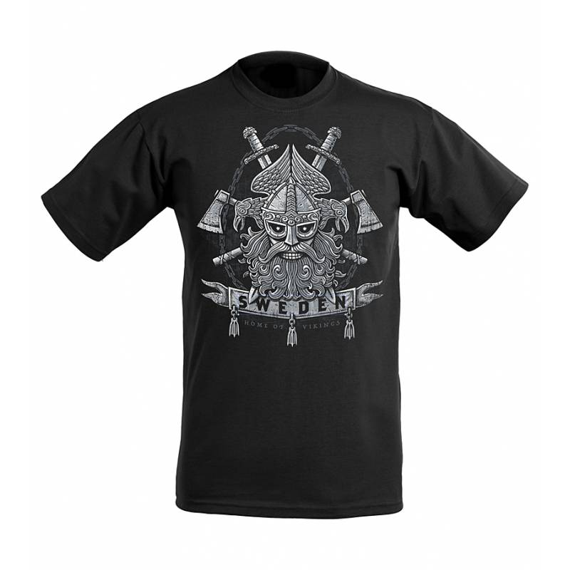DC Home of Vikings SWEDEN T-shirt