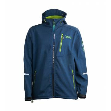 Navy Blue Pokka RIUTULA  mens softshell jacket