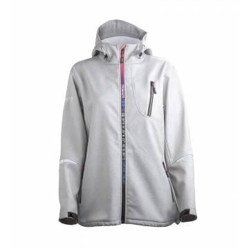 Tuhkan harmaa Pokka RIUTULA  ladies softshell jacket