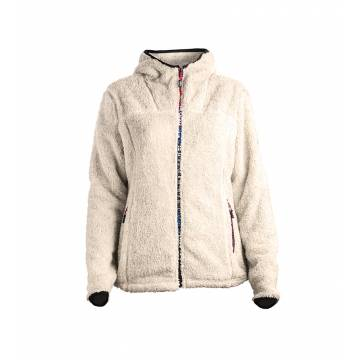 Natural Pokka KOPPELO ladies hooded fleece