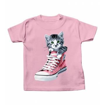 Vaaleanpunainen DC Tossukissa Vauvojen T-paita