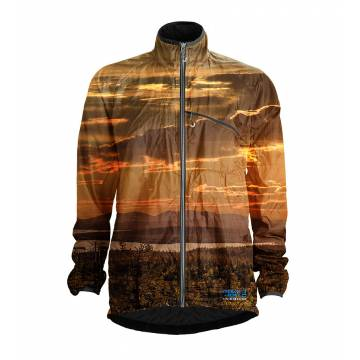 Multicolored Pokka MIDNIGHT SUN Packable jacket