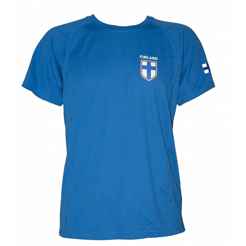 Royal sininen Team Finland, Futis Tekninen paita, Roly
