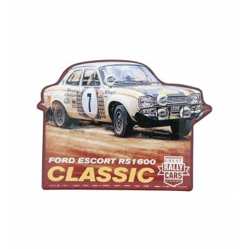Colored Ford Escort RS 1600 Epoxymagnet